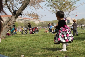 First Birthday at the Washington National Mall coincided with the annual kite festival