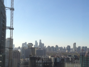 The best Beijing morning I have ever seen! AQI 13