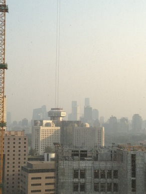 Uh oh. AQI 160 and we are getting into dangerous territory