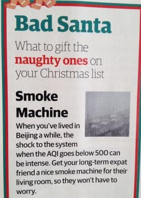 Beijing Christmas humor
