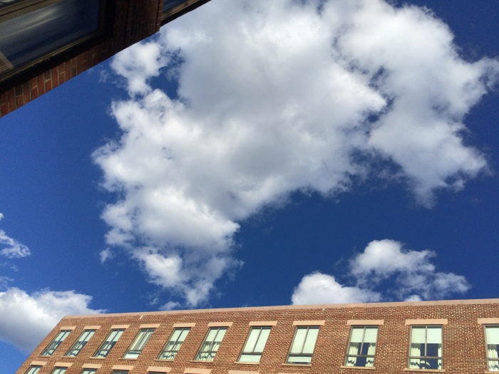 Pillowy Clouds in Georgetwon, DC